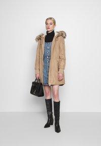 Calvin Klein - BONDED LIGHTWEIGHT ANORAK - Winter coat - khaki - 1