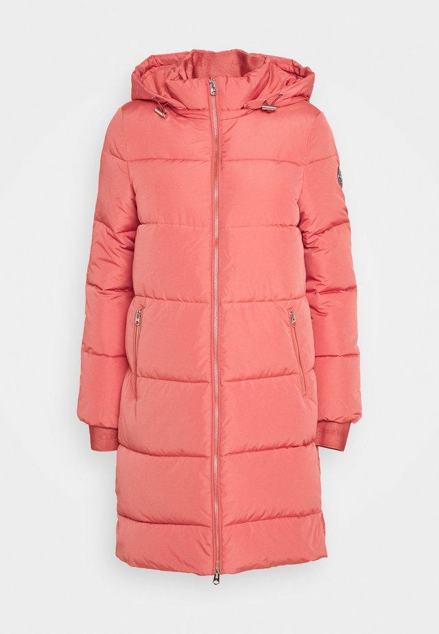 LOGO PUFFER COAT - Vinterkåpe / -frakk - antique pink