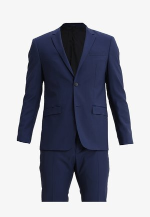 WOOL NATURAL STRETCH FITTED SUIT - Kostuum - indigo