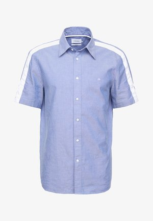 STRIPE DETAIL SHORT SLEEVE SHIRT - Skjorte - blue