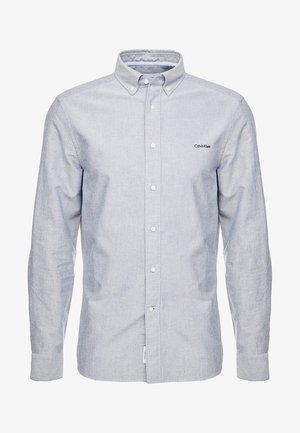 BUTTON DOWN OXFORD LOGO - Shirt - blue
