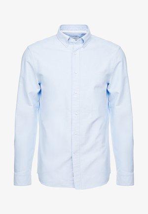 BUTTON DOWN OXFORD LOGO - Skjorte - blue