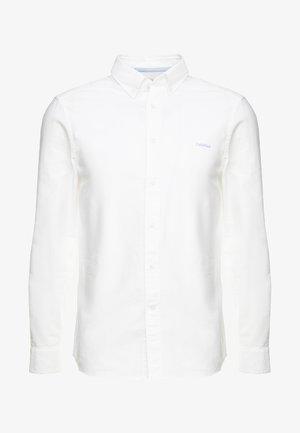 BUTTON DOWN OXFORD LOGO - Camisa - white