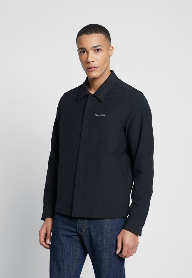 TECHNICAL STRETCH SHIRT - Skjorta - black