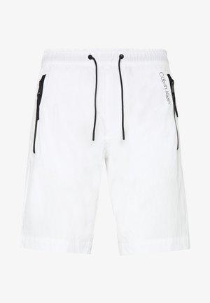 REGULAR FIT CRINKLE - Shorts - white