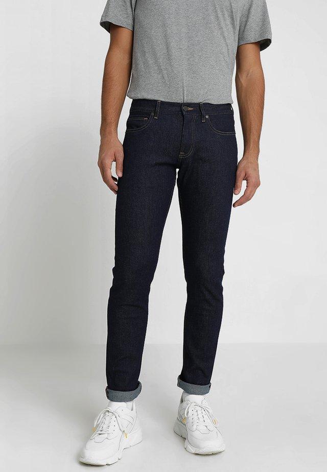 STRETCH - Jeans slim fit - slub indigo