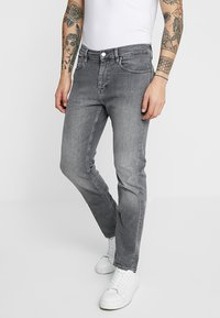 Calvin Klein - Džíny Slim Fit - grey denim - 0