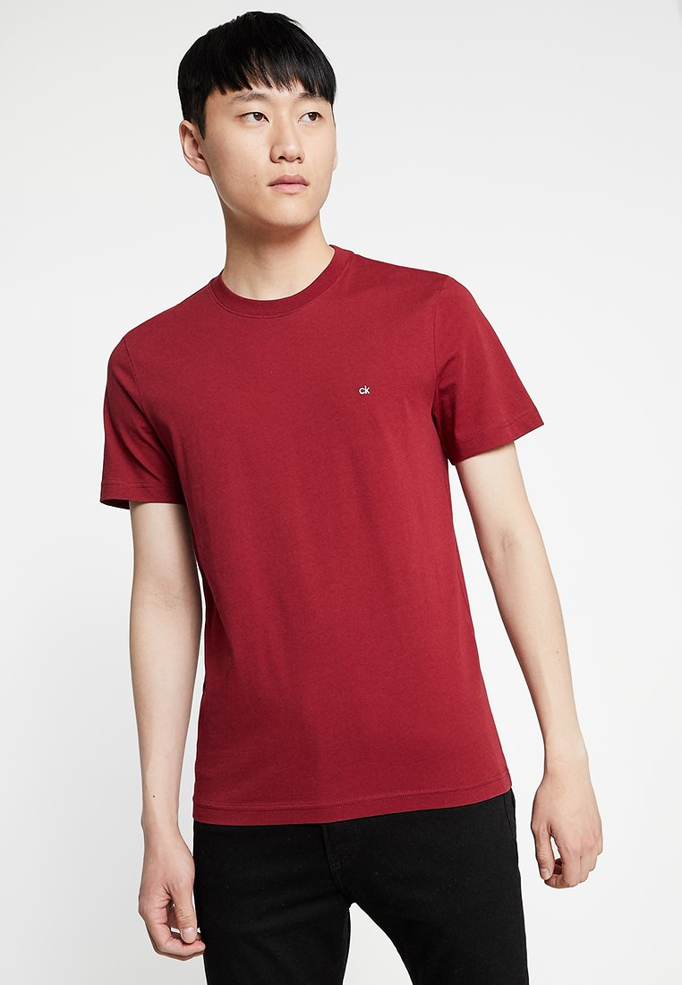 Calvin Klein - LOGO EMBROIDERY - T-Shirt basic - red