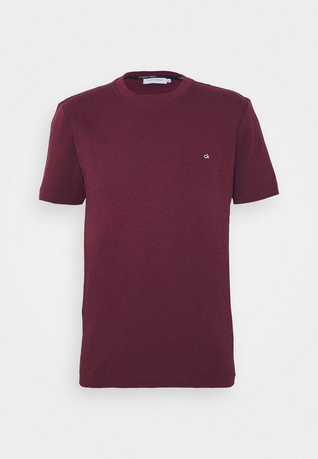LOGO - T-shirt basic - bordeaux