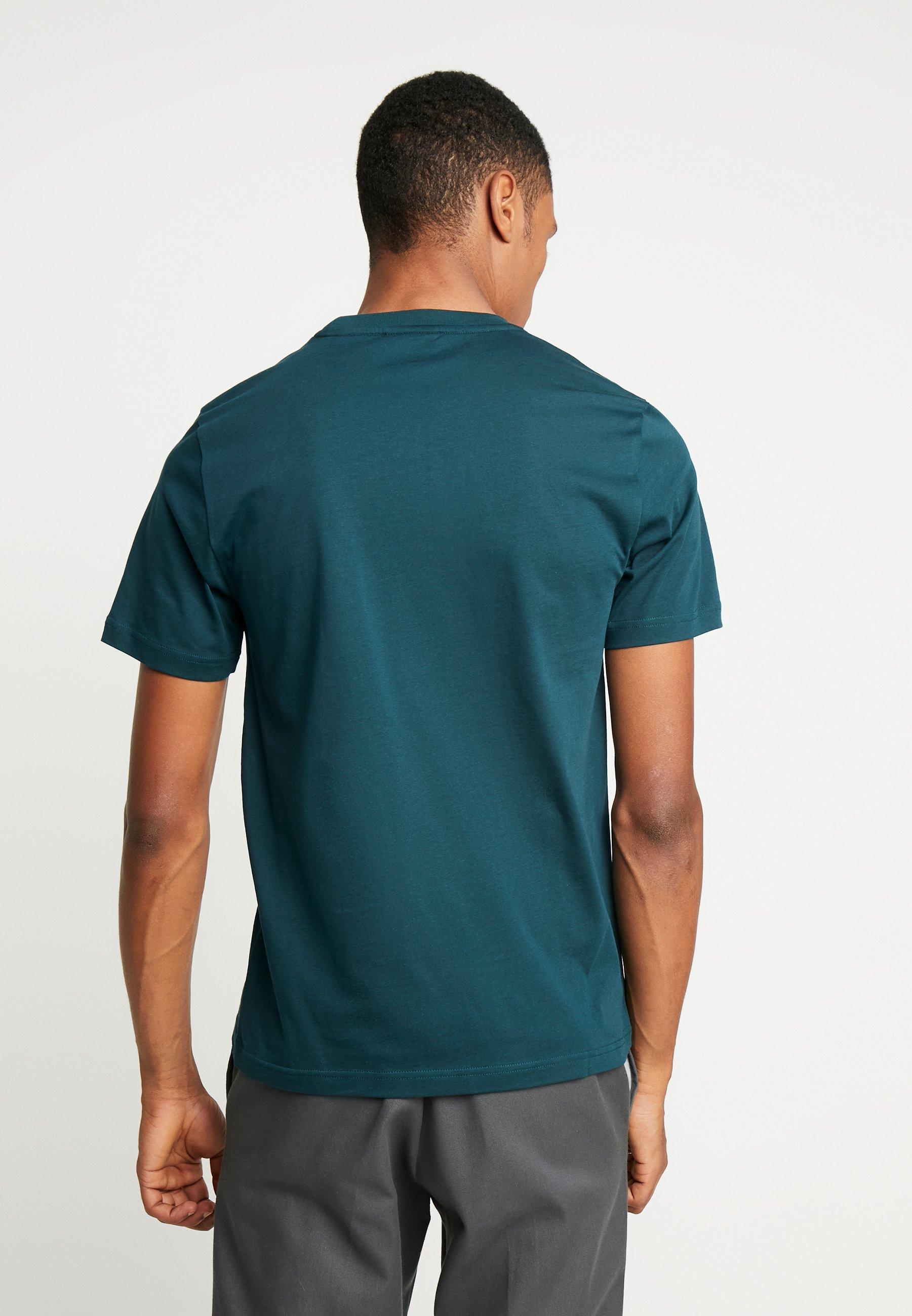 Calvin Klein FRONT LOGO - T-shirt z nadrukiem - green