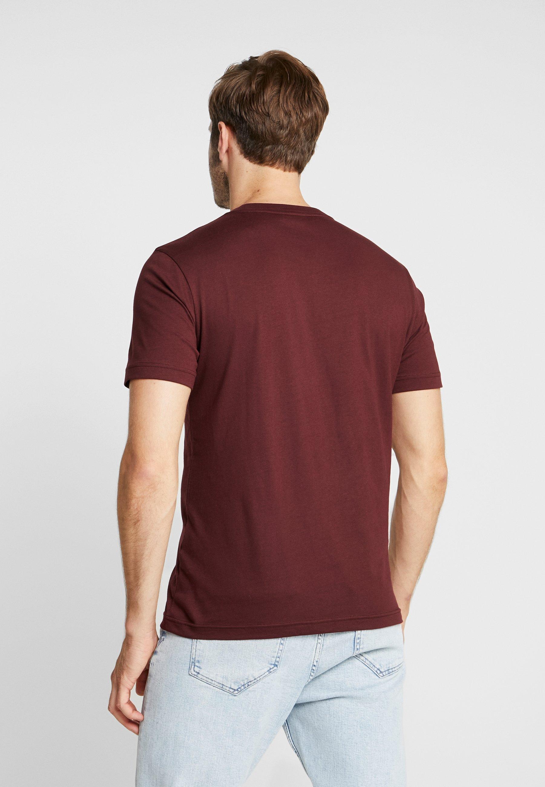 Basique Red Klein Chest Calvin LogoT shirt rdeWCoxB