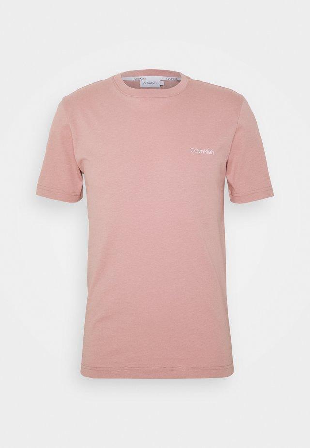 CHEST LOGO - T-shirt basique - pink