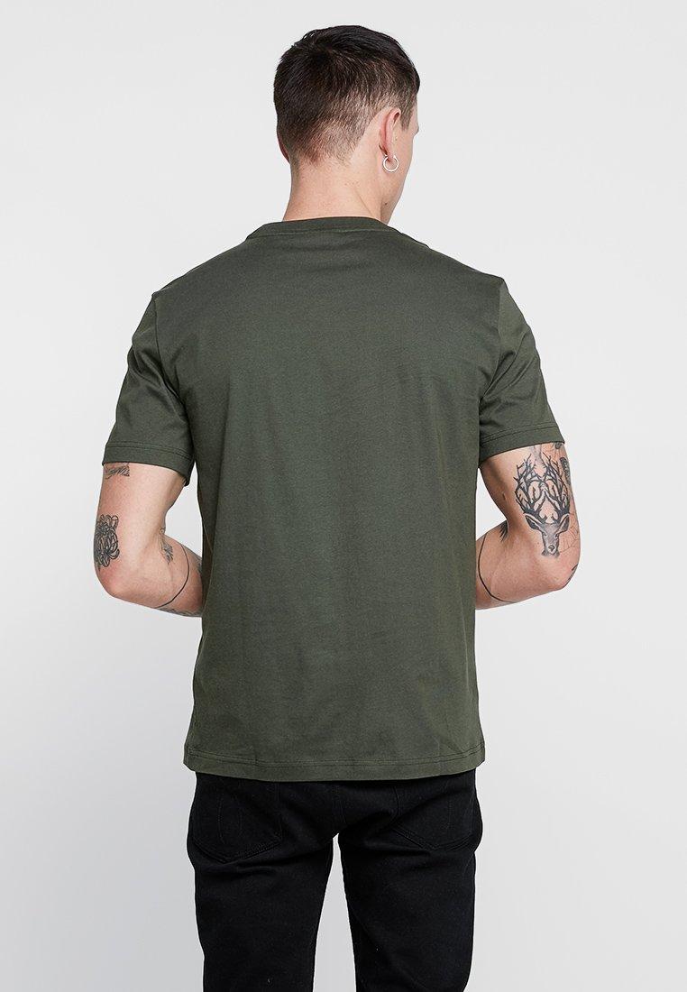 Calvin Klein CHEST LOGO - T-shirt basic - green