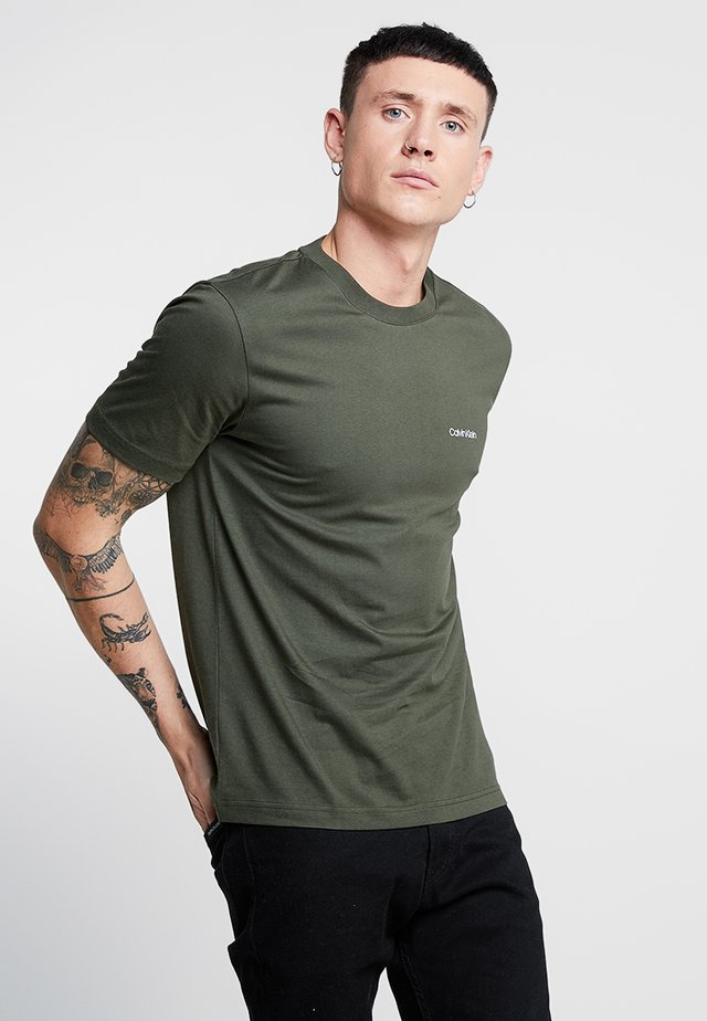 CHEST LOGO - Basic T-shirt - green