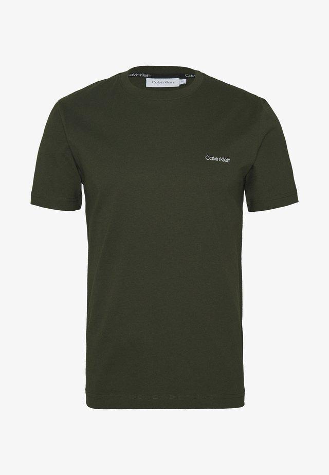 CHEST LOGO - T-shirt basic - green