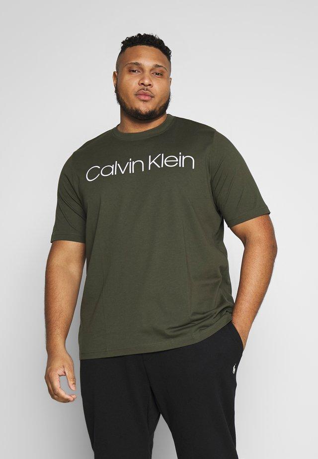 FRONT LOGO - T-shirt imprimé - green