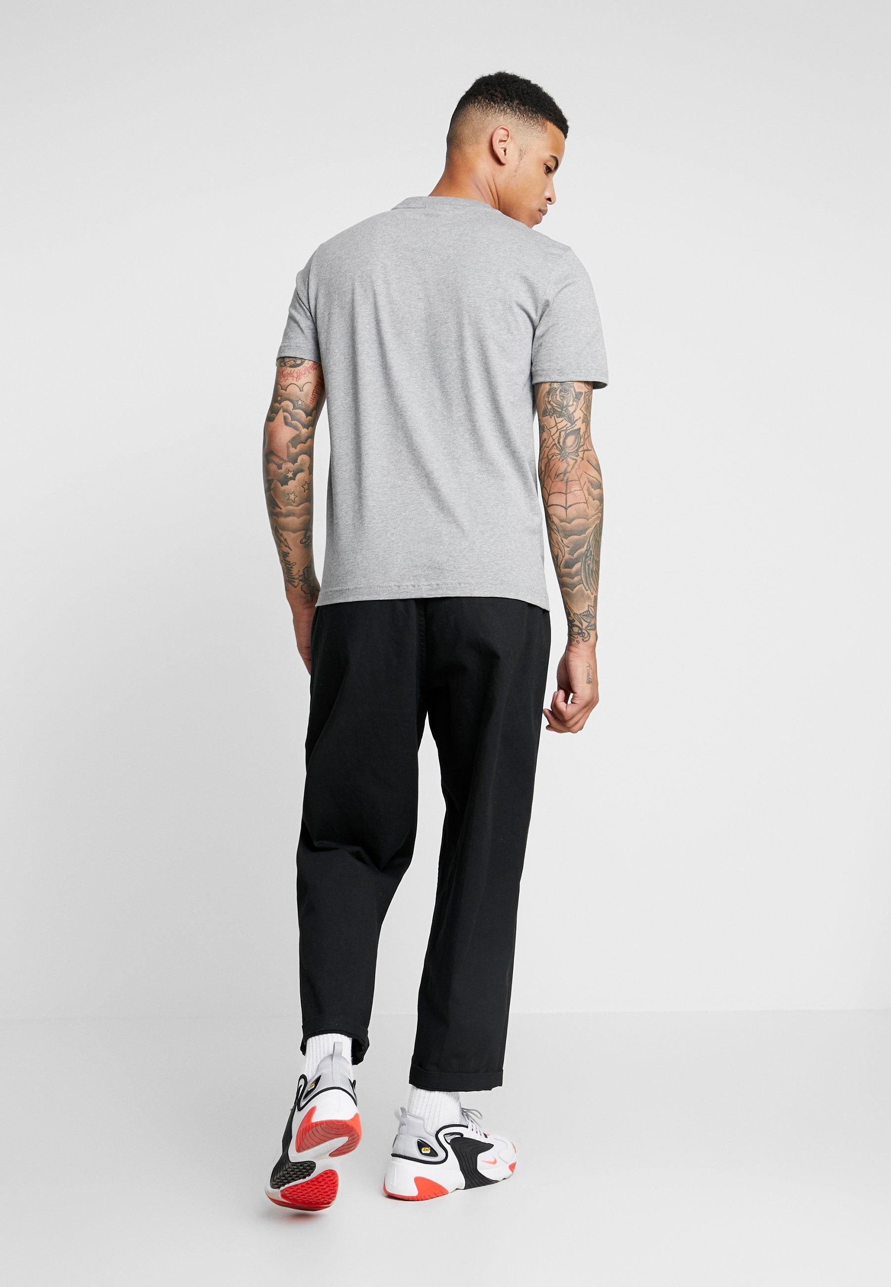 Calvin Klein shirt T Grey ImpriméMid Heather xodBeCr