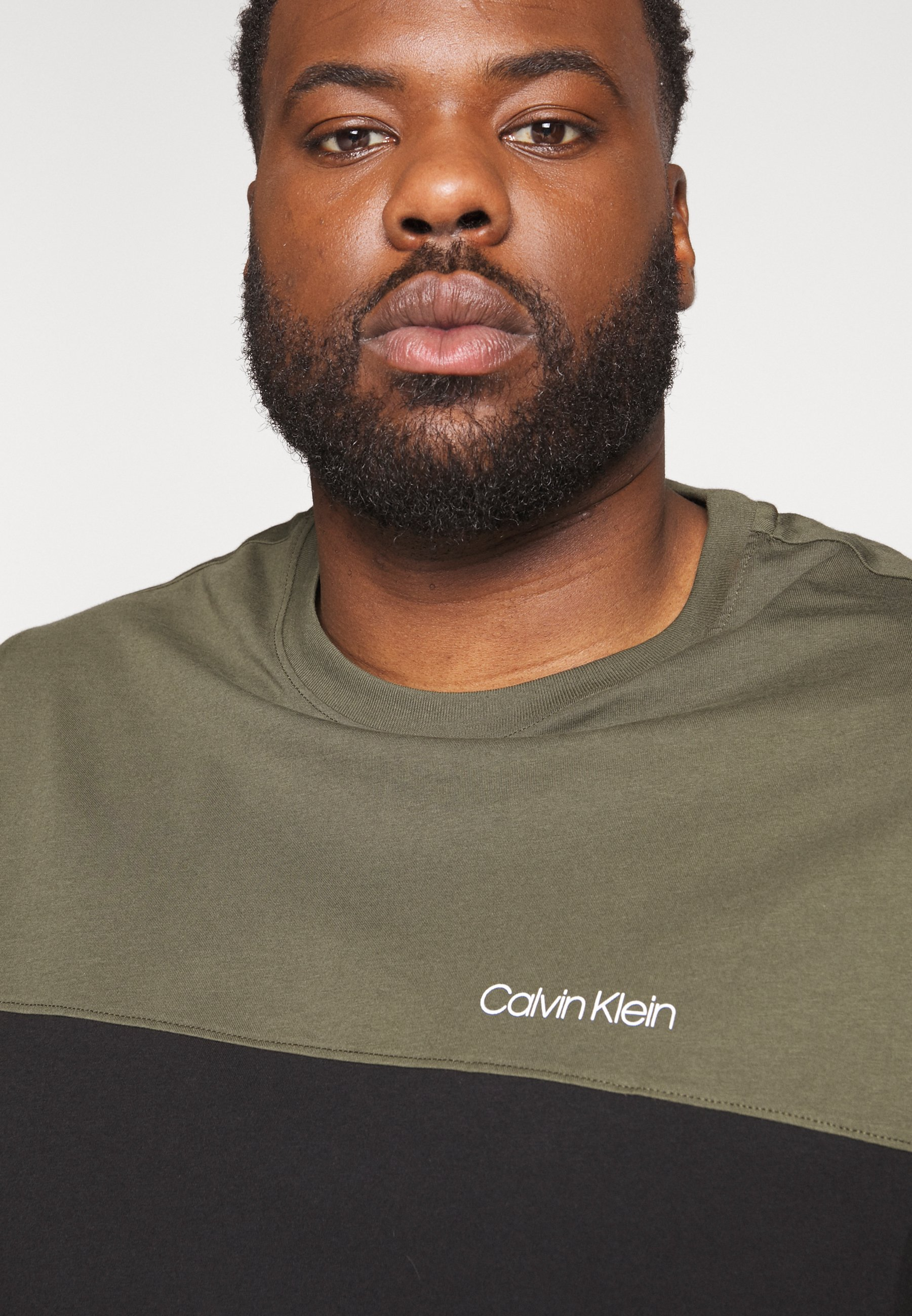 Calvin Klein Printtipaita - Black