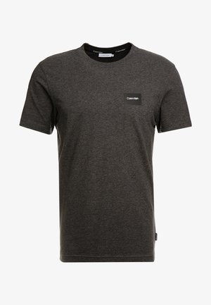 CHEST BOX LOGO STRETCH  - Basic T-shirt - grey