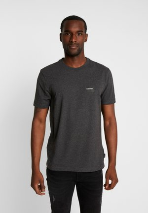 CHEST BOX LOGO STRETCH  - T-Shirt basic - grey