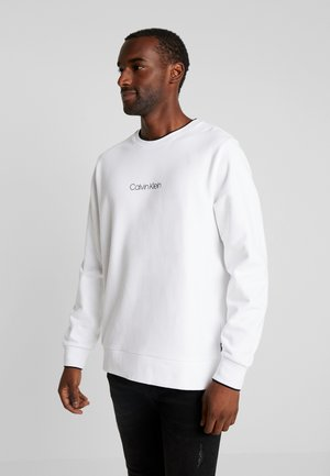 CARBON BRUSH LOGO - Sweatshirt - white