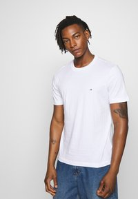 Calvin Klein - LOGO 2 PACK - Basic T-shirt - black/white - 2