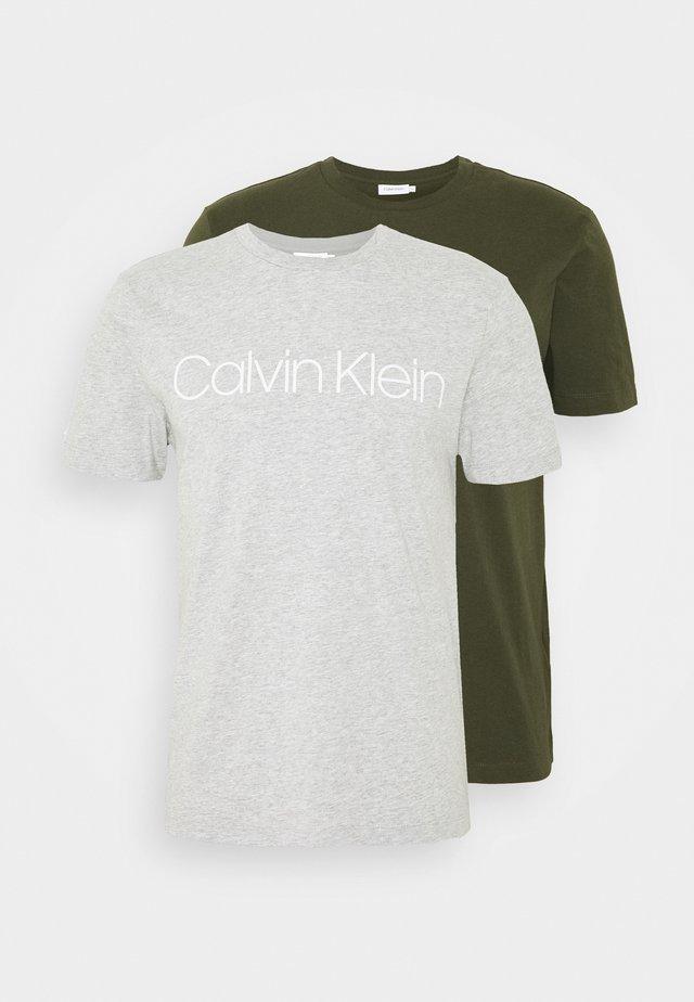 FRONT LOGO 2 PACK - T-shirt print - multi