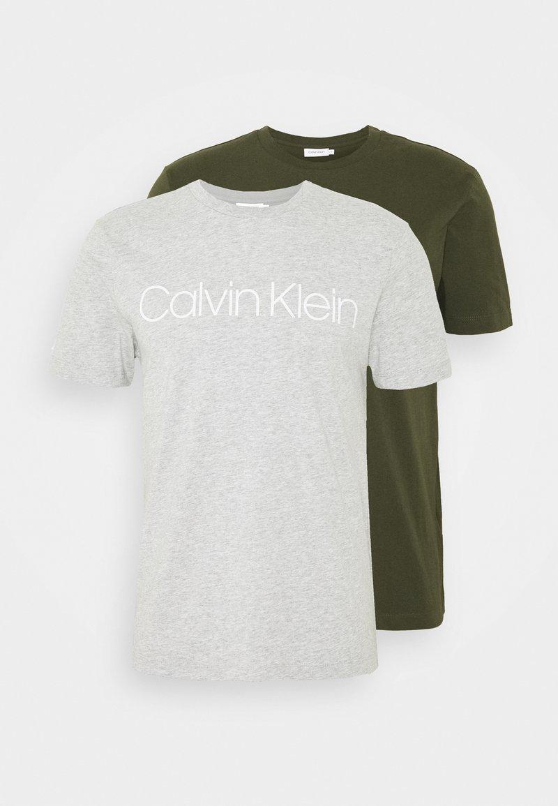 Calvin Klein - FRONT LOGO 2 PACK - Triko spotiskem - multi