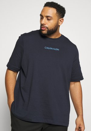 SHADOW LOGO - Print T-shirt - blue