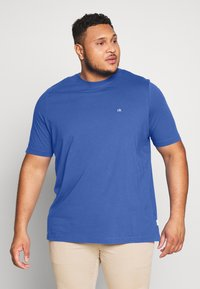 Calvin Klein - LOGO - Basic T-shirt - blue - 0