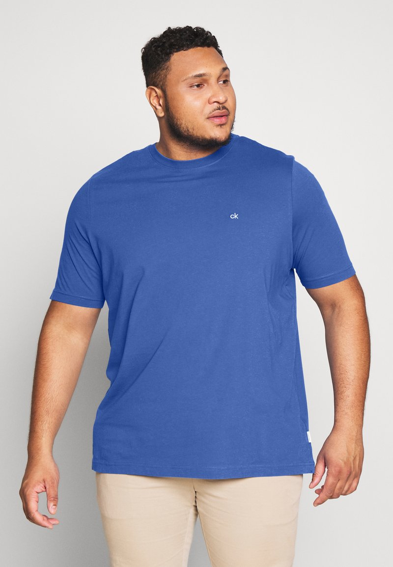 Calvin Klein - LOGO - Basic T-shirt - blue