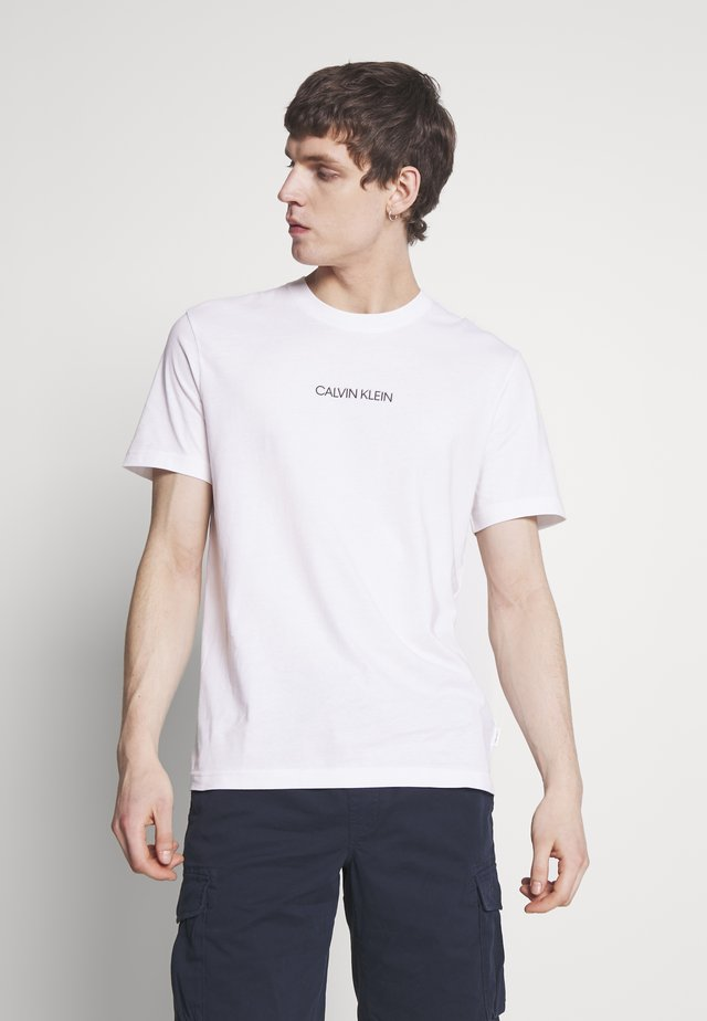 SHADOW LOGO  - Camiseta estampada - white