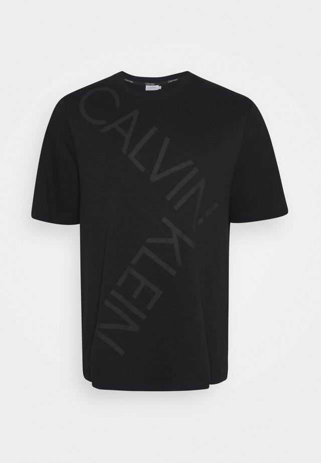 BOLD LOGO - T-shirt imprimé - black