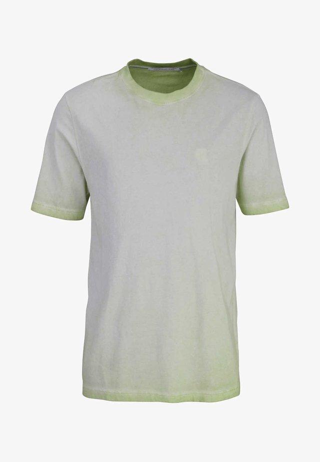 Basic T-shirt - gr¸n - petrol