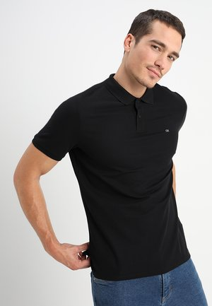 REFINED CHEST LOGO - Poloshirt - perfect black