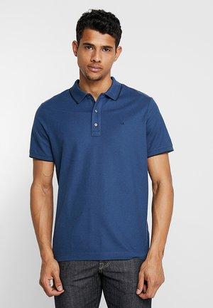 REFINED LOGO TIPPING - Poloshirt - blue