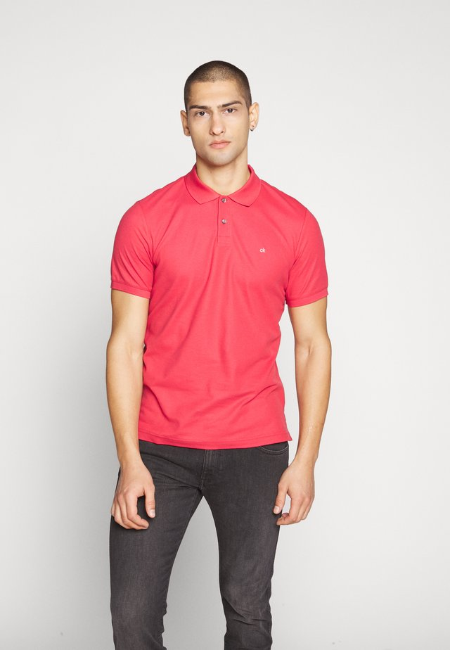 REFINED LOGO SLIM - Polo - red