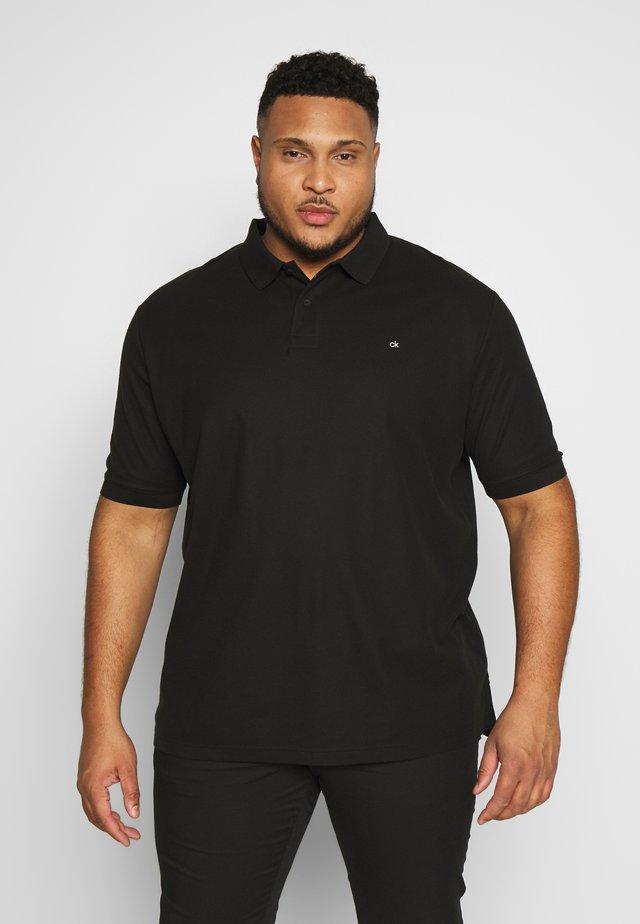 REFINED LOGO SLIM - Poloshirt - black
