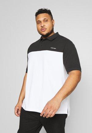 BT-COLOR BLOCK - Polo shirt - black