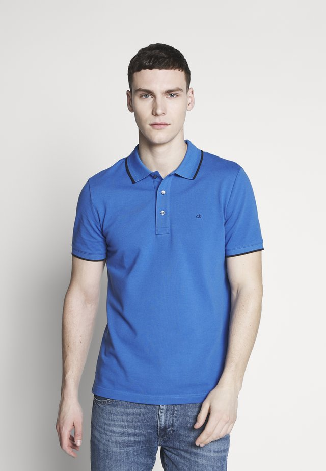 TIPPING SLIM - Poloshirt - blue