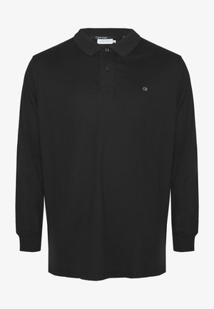 LIQUID TOUCH LONG SLEEVE - Poloshirt - black