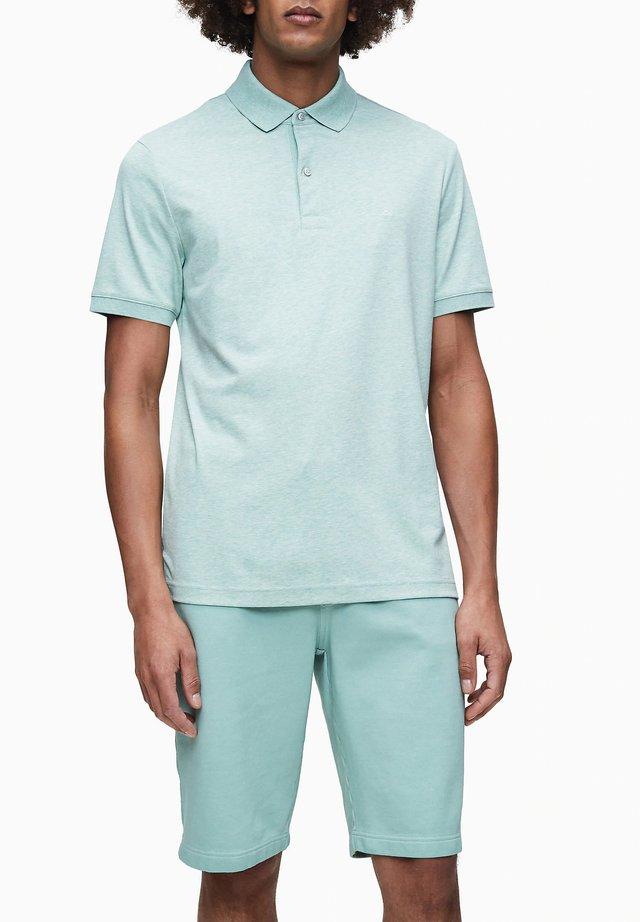 Polo shirt - granite green heather