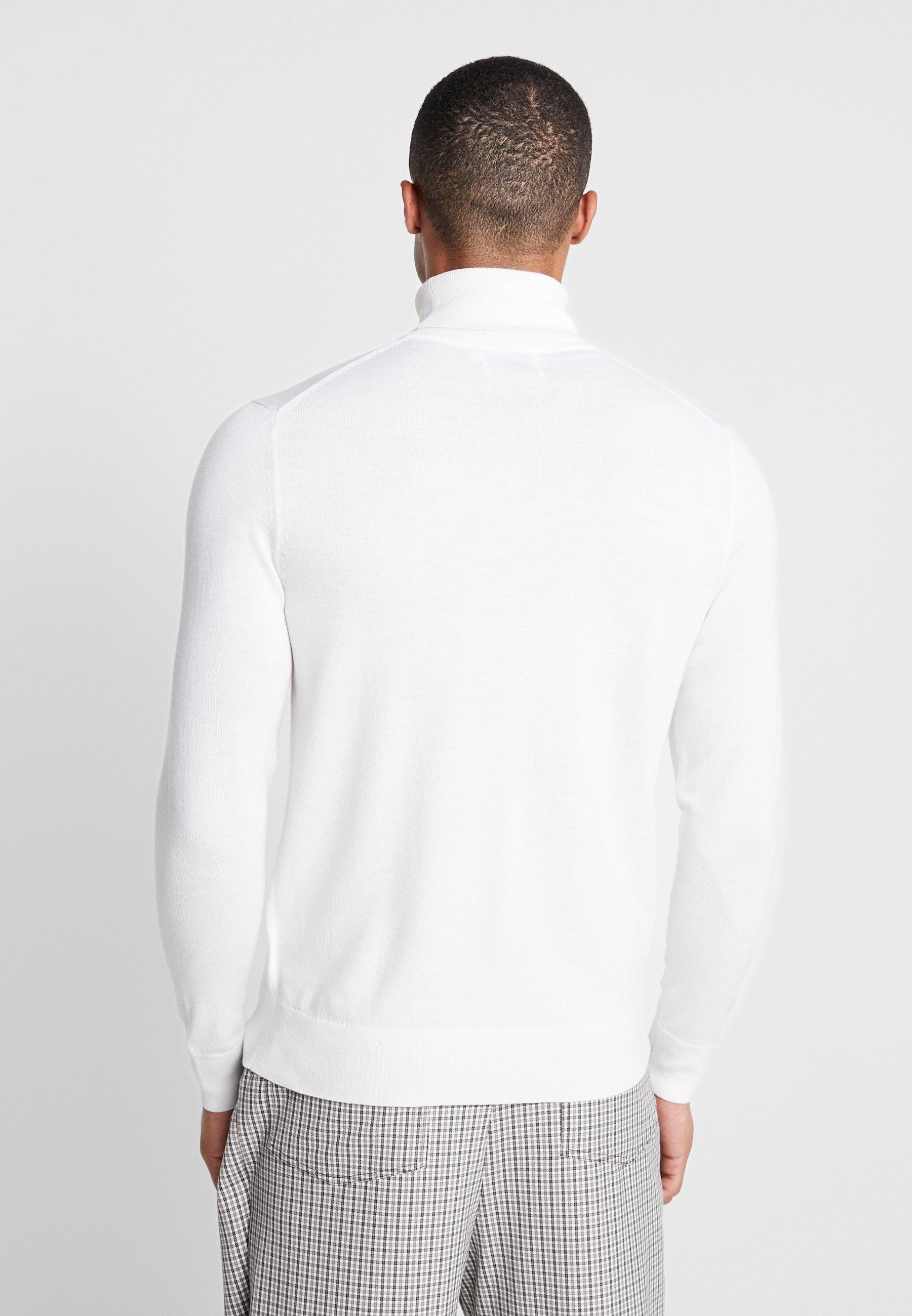 Tailored Calvin Klein Turtle White NeckMaglione Superior RLj3A54