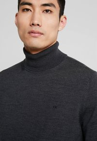 Calvin Klein Tailored - SUPERIOR TURTLE NECK - Svetr - grey - 4