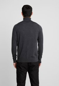 Calvin Klein Tailored - SUPERIOR TURTLE NECK - Svetr - grey - 2