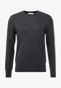 Calvin Klein Tailored - SUPERIOR CREW NECK  - Stickad tröja - grey - 4