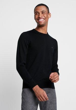 SUPERIOR CREW NECK  - Stickad tröja - black