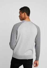 Calvin Klein - TONAL C-NECK - Neule - grey - 2