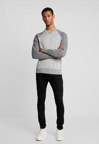 Calvin Klein - TONAL C-NECK - Neule - grey - 1
