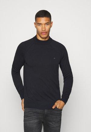 MINI MOCK - Pullover - black
